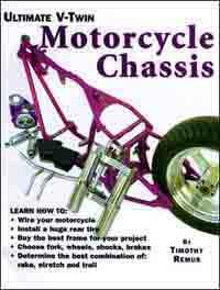 Ultimate V-Twin Motorcycle Chassis - Front Cover