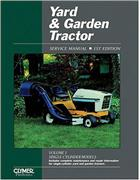 Yard And Garden Tractor (1st Edition) Clymer Owners Service & Repair Manual