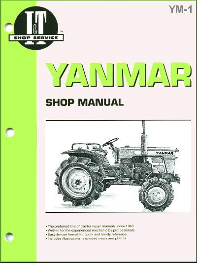 Yanmar Tractor Owners Service & Repair Manual - Front Cover