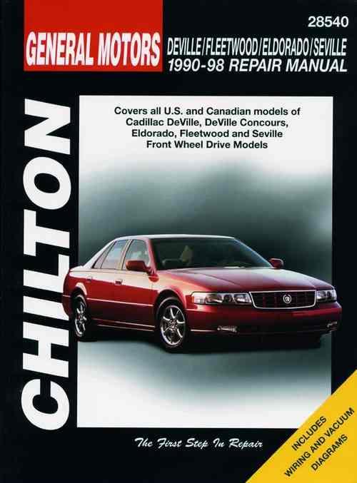 Cadillac DeVille, Fleetwood, Eldorado & Seville 1990 ...