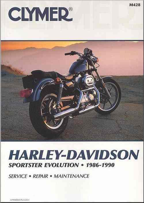 harley davidson xlh sportster evolution 1986 1990. Black Bedroom Furniture Sets. Home Design Ideas