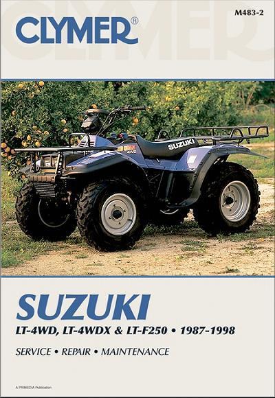 Suzuki King Quad  Owners Manual