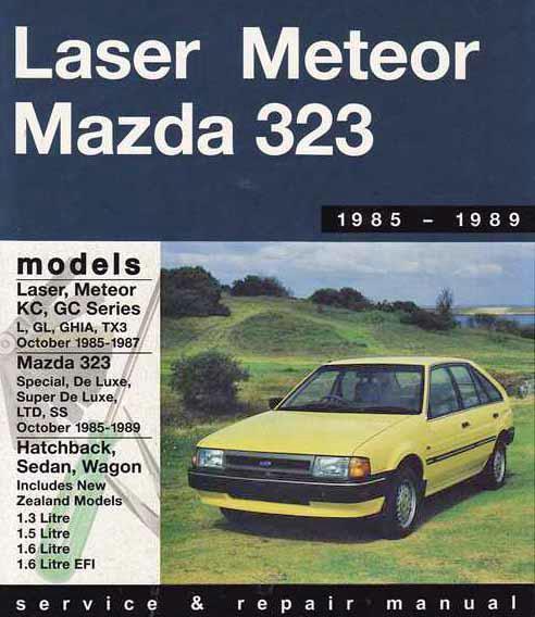 Mazda 323 Fwd  U0026 Ford Laser Kc    Meteor Gc 1985