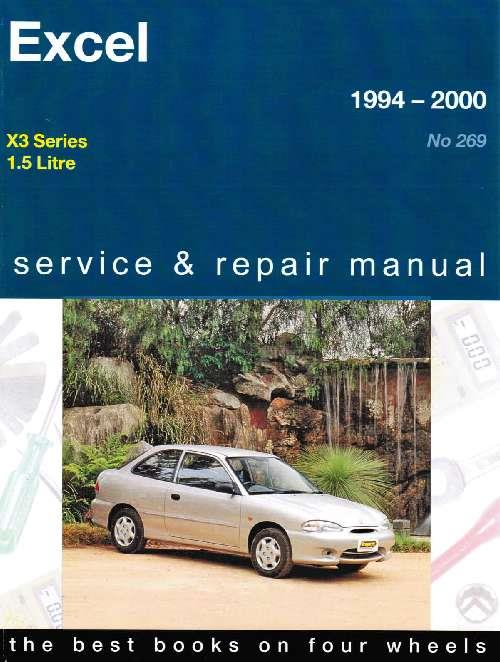 hyundai excel x3 series 1994 2000 gregorys owners. Black Bedroom Furniture Sets. Home Design Ideas