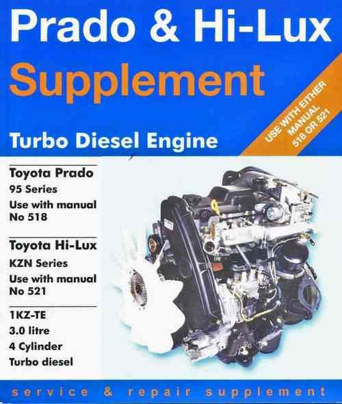 toyota 1kz te turbo diesel service manual