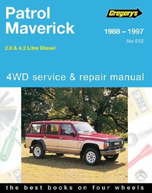 nissan patrol gq y60 ford maverick da diesel 1988. Black Bedroom Furniture Sets. Home Design Ideas