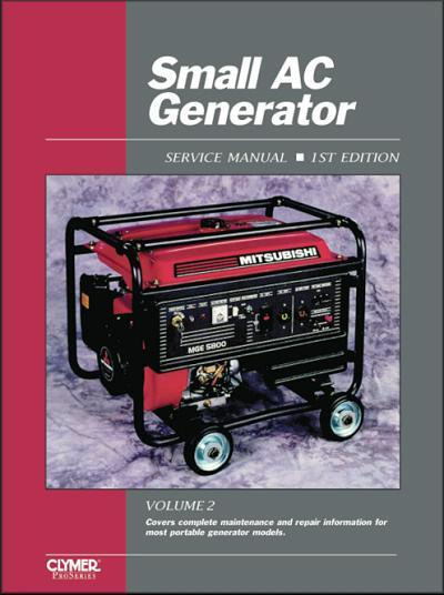 Small Ac Generator  Volume 2  Owners Service  U0026 Repair