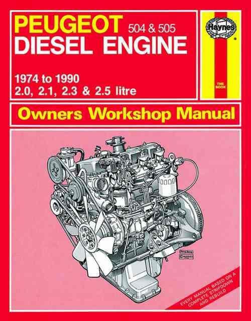 Peugeot 504  U0026 505 Diesel Engine 1974