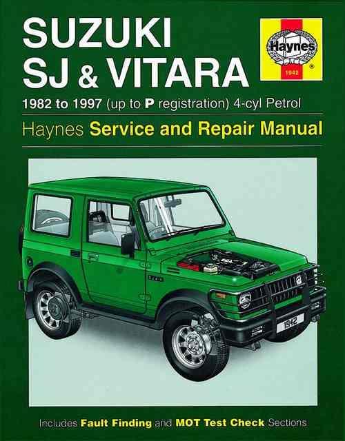 Suzuki Sj Sierra Samurai And Vitara Series 4 Cyl Petrol