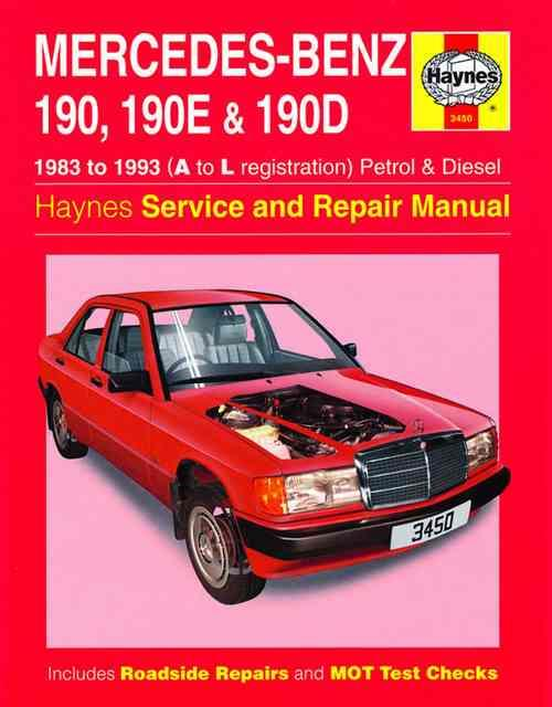 mercedes benz 190  190e   190d petrol   diesel 1983 1993 0857336428 9780857336422 haynes 190E Wallpaper 190E 2 3