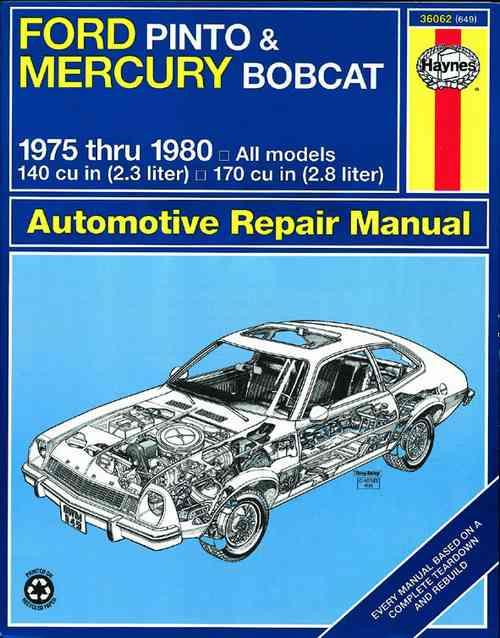 Ford Pinto  U0026 Mercury Bobcat 1975