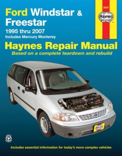 ford windstar   haynes owners service repair