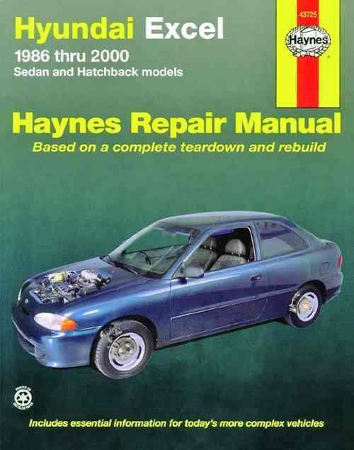 hyundai excel and accent haynes repair manual pdf