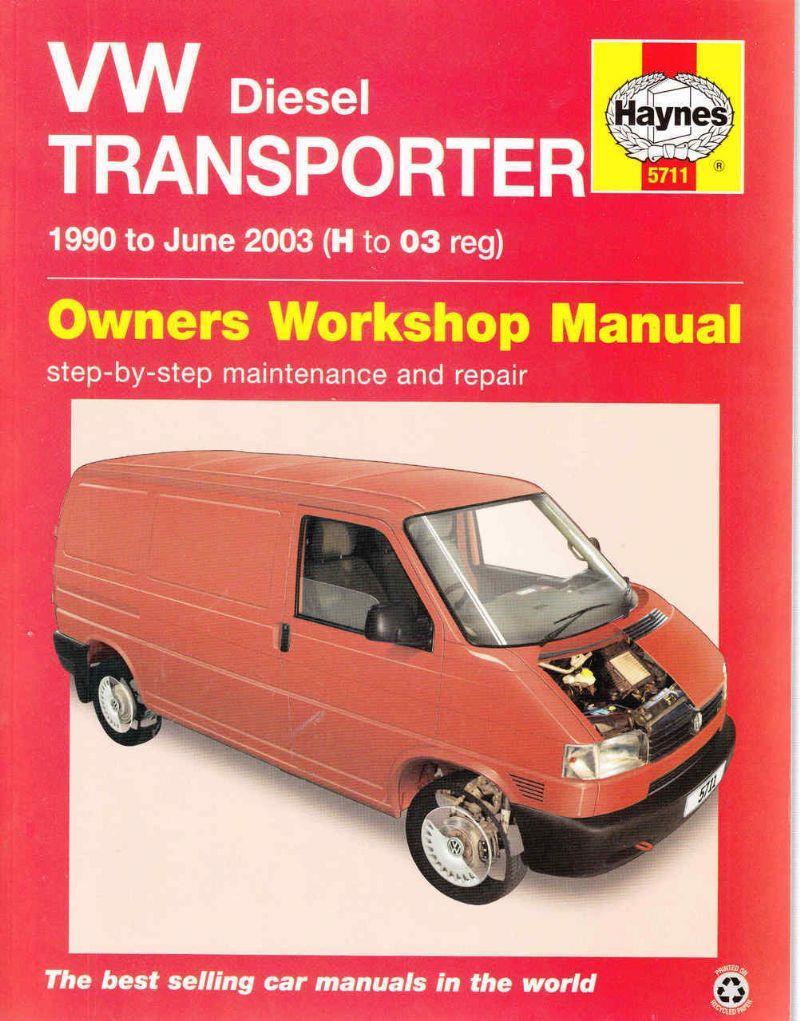 vw t4 transporter diesel 1990 2003 haynes owners service repair manual 0857337114. Black Bedroom Furniture Sets. Home Design Ideas
