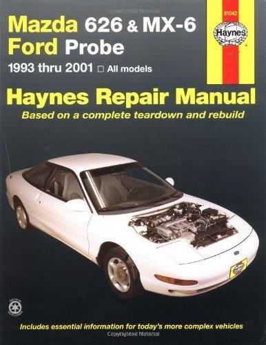 Mazda 626  Mx-6  U0026 Ford Probe 1993