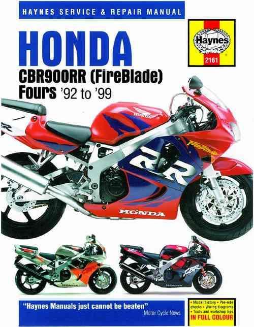Honda Cbr900rr Fireblade Fours 1992