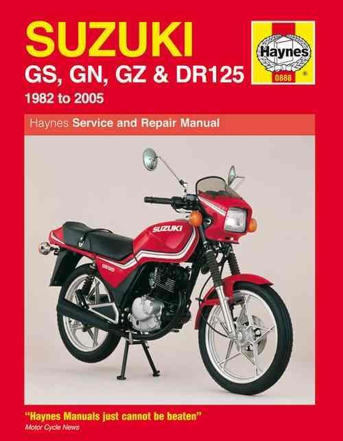 suzuki gs 125 wiring diagram suzuki image wiring suzuki gs125 gs125es gn125 gz125 marauder dr125s 1982 2005 on suzuki gs 125 wiring diagram