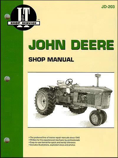 john deere farm tractor owners service repair manual 0872883604 9780872883604 intertec publishing. Black Bedroom Furniture Sets. Home Design Ideas