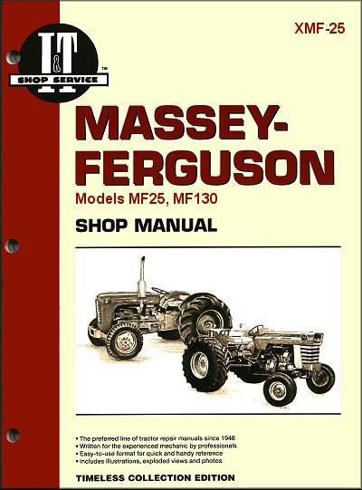 massey ferguson farm tractor owners service repair manual 0872881288 9780872881280 intertec