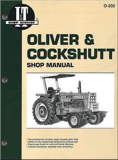 Oliver  U0026 Cockshutt Petrol  U0026 Diesel Farm Tractor Owners Service  U0026 Repair Manual 0872883728