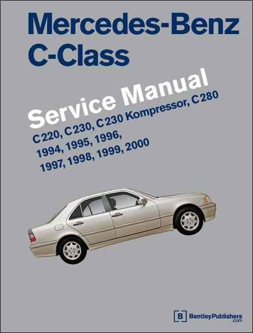 Mercedes benz c class w202 1994 2000 service manual for 1998 mercedes benz c230 repair manual