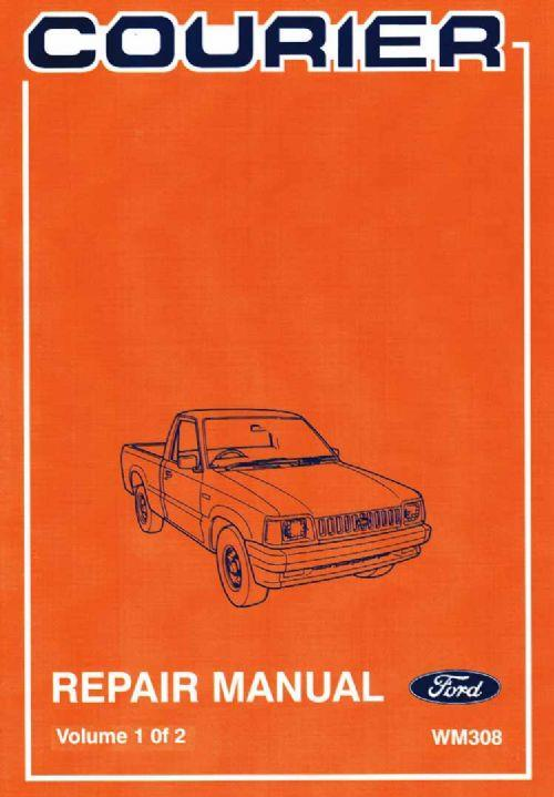 ford courier 1985 1986 factory repair manual ford australia rh computeroutpost com au ford courier workshop manual online ford courier workshop manual online